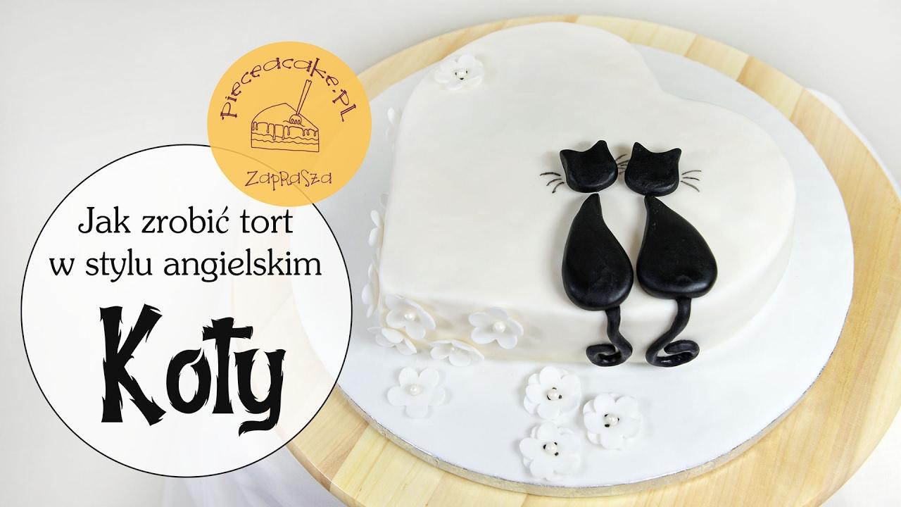 How To Make Cats Cake Jak Zrobić Tort Koty Youtube
