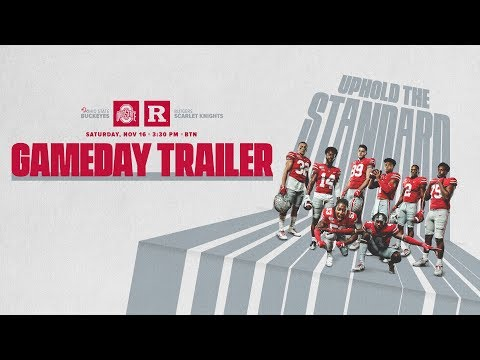 Chris Davis - 2019 Ohio State Football: Rutgers Trailer!
