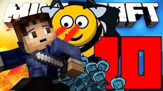 chased by killer bees minecraft mod let s play attack of the b team with woofless episode 10