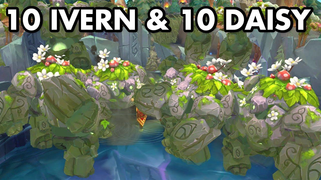 10 Daisy Vs Baron Elder Megabrush Ofa Ivern Youtube