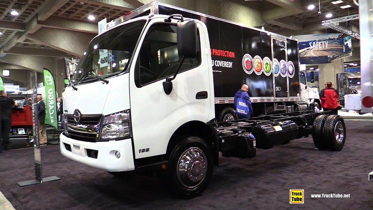 2017 Hino 195 Truck Walkaround 2017 Expocam Montreal Youtube