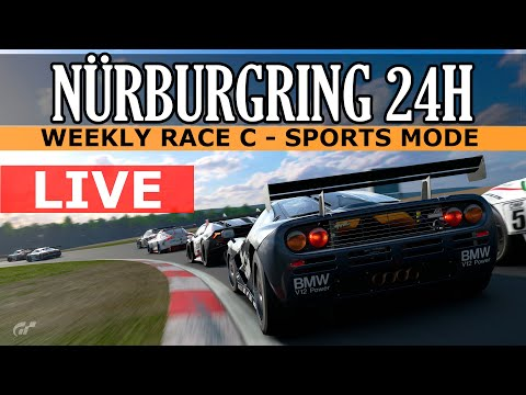 GT Sport - Starting Last On Nürburgring 24h Layout / Race C