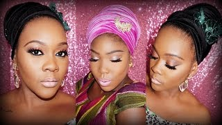GlamByIsoken: Nigerian Turban Tutorial collab Heidisinvention