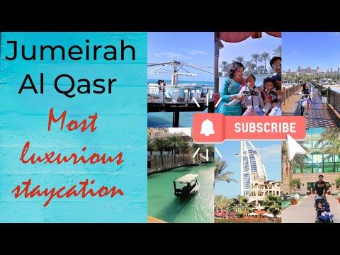 Jumeirah Al Qasr. our staycation. detailed tour #jumeirahalqasr
