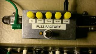 Bespoke Pedal #3 Fuzz Factory