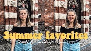 SUMMER FAVORIETEN ☆ Beauty, fashion & Music