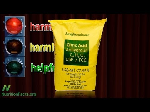 Is Citric Acid Harmful?