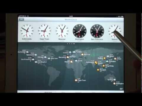 iPad World Clock & Weather - HD