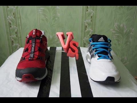 Шнурки VS Система быстрой шнуровки