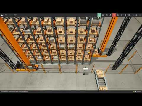 Automated Warehouse Project - Factory I/O