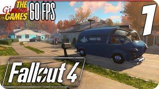 Прохождение Fallout 4 на Русском PС 60fps - 1 Знатно подремал