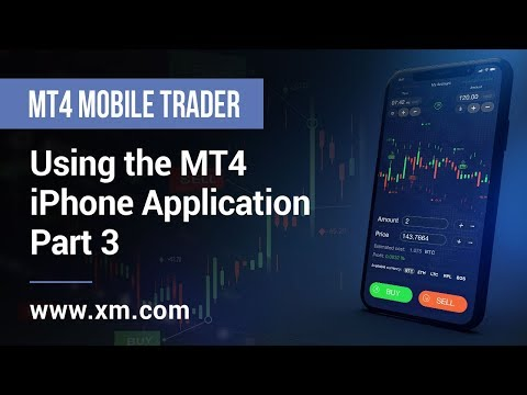 Xm Com Mobile Trader Using The Mt4 Iphone Application Part 3