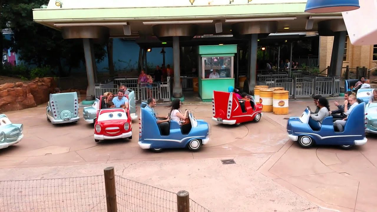 Disneyland Paris Cars Quatre Roues Rallye Offride 22 08 2014