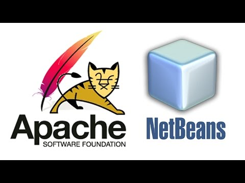 How To Install Apache Tomcat Web Server In Netbeans - Windows