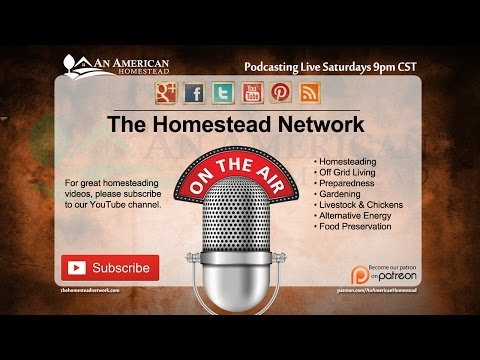 Podcast: Meat Preservation and Homestead News