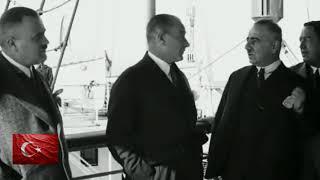Atatürk'ün ilk defa yayınlanan görüntüsü