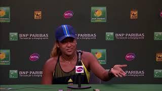BNP Paribas Open 2018: Naomi Osaka R2 Press Conference