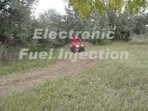 Rice Honda Testing a TRX420FA