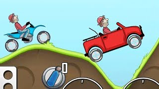 Hill Climb Racing Sport motorcycle - Сars GamePlay