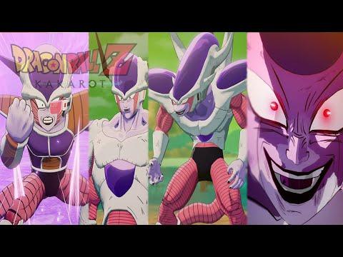 Dragon Ball Z Kakarot - All Frieza Transformations