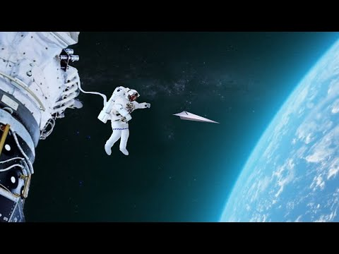 What if A Paper Airplane Was Launched From Space?