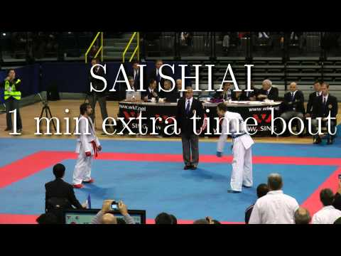 WKF 2010-10-27  -75 kg AZE Aghayev [10]   JPN Matsuhisa [7] with Slow Motion