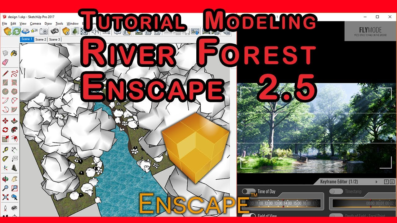 New Version Enscape 2 5 - Tutorial tips Forest modeling on new version  Enscape 2 5