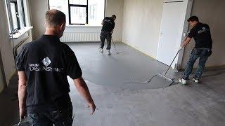 Calmix DesignStone: het leggen van een betonlook vloer!