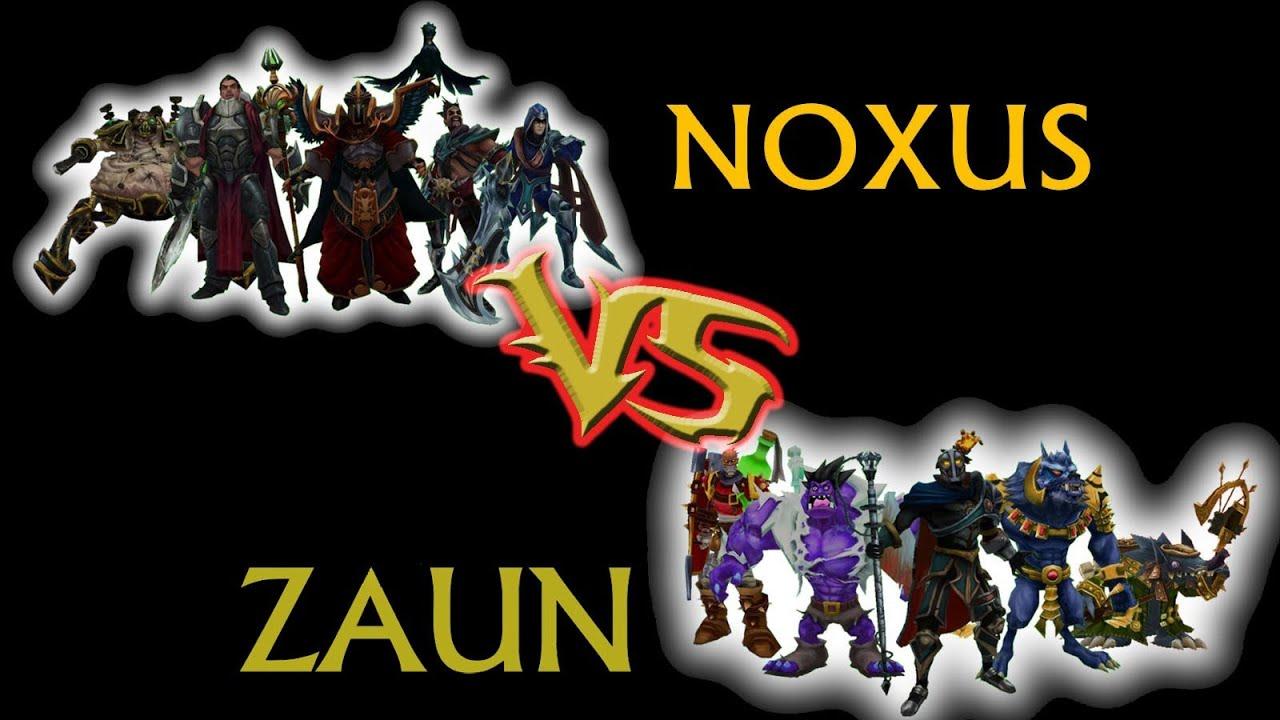 LoL CSC Round 2 Game 2 Noxus vs Zaun