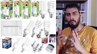 Ampul Seçim Rehberi: Elektrik tasarrufu ve lambalar arası farklar