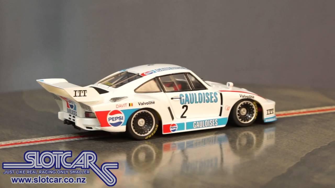 Sideways Slot Car Porsche 935 K2 Gauloise 2 Group 5 Slotcar Sw37