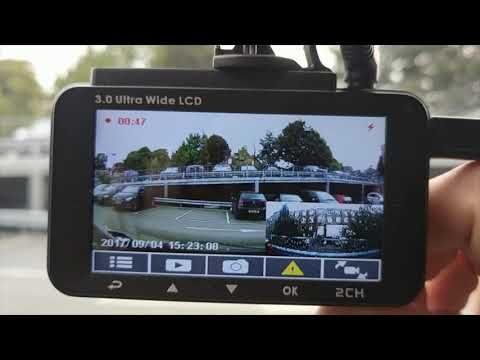 HP Dual Dashcam! Unboxing And Review Of HPF860 Camera
