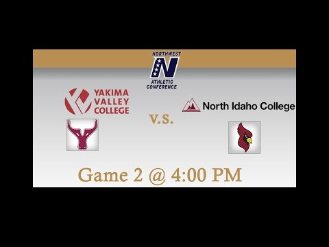 Yakima Valley Community College vs North Idaho College: Game 2