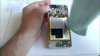 huawei p9 lite battery  removed