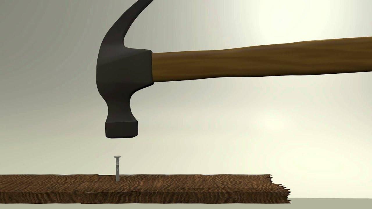 blender 2 6 clip hammer und nagel youtube. Black Bedroom Furniture Sets. Home Design Ideas