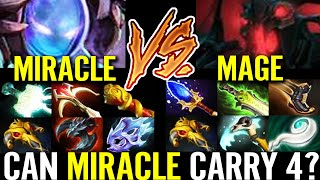 Can MIRACLE CARRY 4 Teammates? Arc Warden Fast Farm vs Mage- Shadow Friend Epic Dota 2 Pro Gameplay