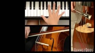 SKRILLEX - bangarang (fastest piano/slap bass/orchestra cover)