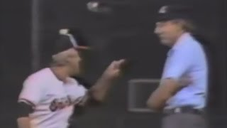 Bill Burr talks about that Earl Weaver clip where he argues with th...