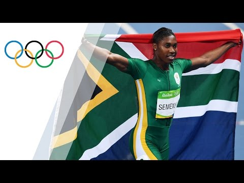 Semenya wins gold in Women's 800m Final