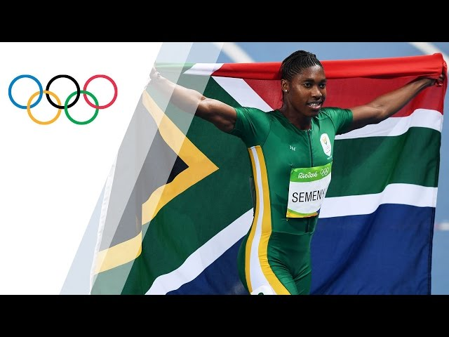 Semenya wins gold in Women's 800m Final