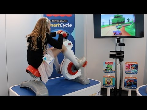 New Fisher Price Smart Cycle Exercise Video Game Bike For Kids