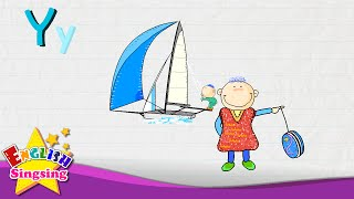Y is for Yacht, Yarn, Yo-yo - Letter Y - Alphabet Song | Learning English for kids