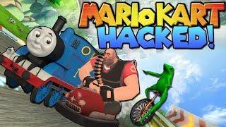 SUPREME MEME RACERS || Mario Kart Wii HACKED! || PART 1