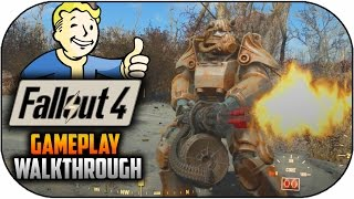 Fallout 4 Gameplay Walkthrough - Character Creation,Exploration & More (Fallout 4 Gameplay)