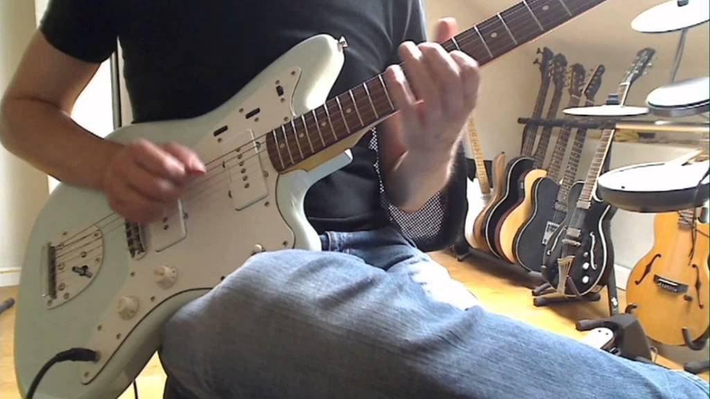 Squier Vintage Modified Jazzmaster Review  YouTube