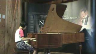Bach three-part invention #2 on Steinway No.1 replica