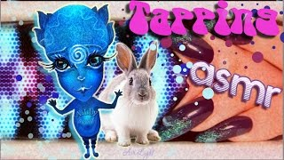 """WHITE Rabbit - Turquoise GLITTER"" ASMR tapping | ""БЕЛЫЙ кролик - Бирюзовый ГЛИТТЕР"" АСМР таппинг"