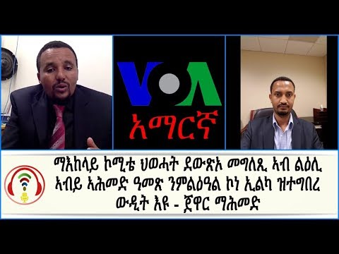Jawar Mohammed and  Alula Solomon Interview thumbnail