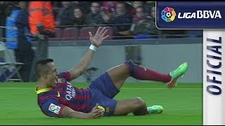 Resumen de FC Barcelona (4-0) Elche CF - HD - Highlights