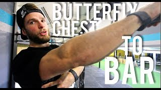 How to: BUTTERFLY CHEST TO BAR PULL-UP // Breakdown, Efficiency, Key Points